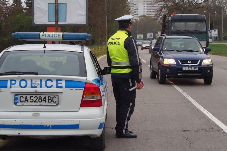 полицейский на улицах болгарии